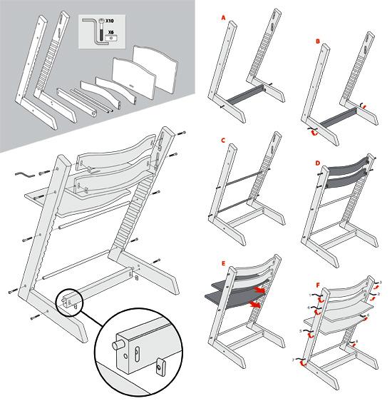 stokke tripp trapp high chair white stokke tripp trapp. Black Bedroom Furniture Sets. Home Design Ideas